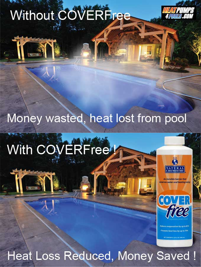 Coverfree pool cover liquid liquid swimming pool cover - Swimming pool heating calculations ...